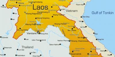Malaria Karte Thailand.Laos Karte Karten Laos Sudost Asien Asia